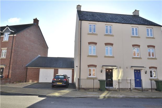 Thumbnail Semi-detached house for sale in Sapphire Way, Brockworth, Gloucester