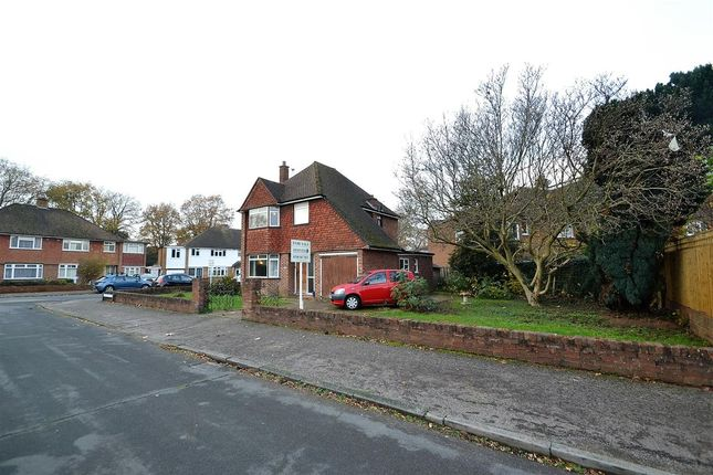Thumbnail Detached house for sale in Wolsey Drive, Walton-On-Thames