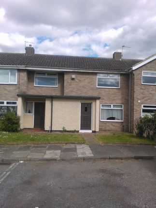 Thumbnail Terraced house to rent in Holyrood Close, Thornaby