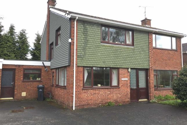 Thumbnail Detached house to rent in The Manse, Brookfield Road, Welshpool, Powys