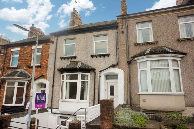 Thumbnail Terraced house for sale in Clyffard Crescent, Newport