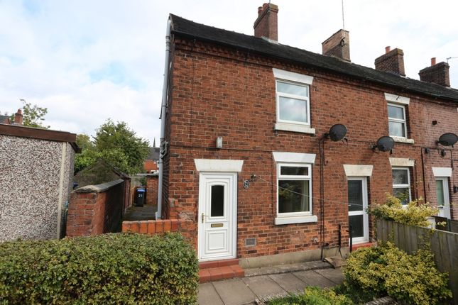 Thumbnail Terraced house to rent in Lid Lane, Cheadle