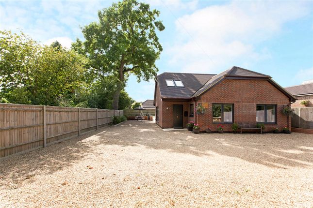 Thumbnail Detached bungalow for sale in Ayres Lane, Burghclere, Newbury, Hampshire