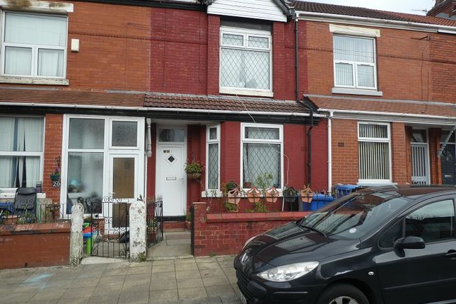 Thumbnail Terraced house for sale in Partridge Street, Stretford, Manchester.