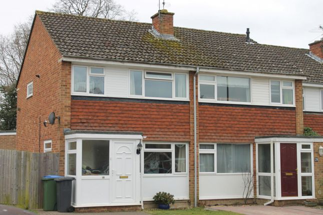 Thumbnail End terrace house to rent in Broome Close, Horsham