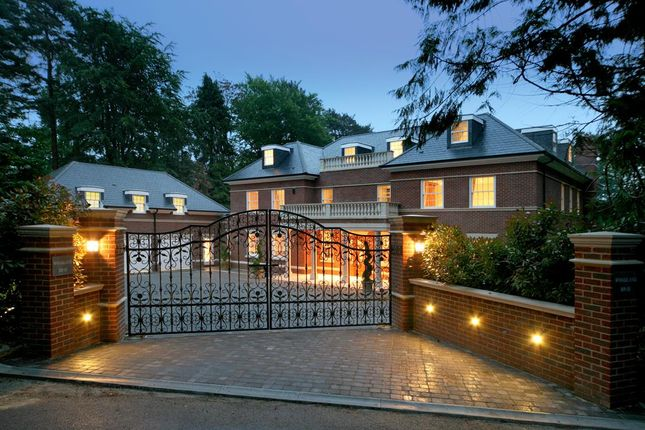 Thumbnail Detached house for sale in Woodlands Road West, Wentworth, Virginia Water, Surrey
