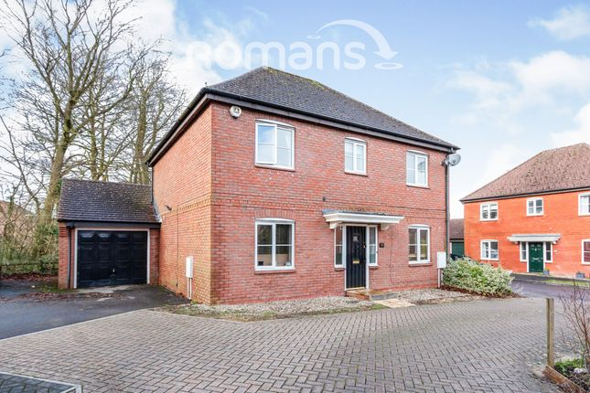 Thumbnail Detached house to rent in Priest Down, Beggarwood, Basingstoke