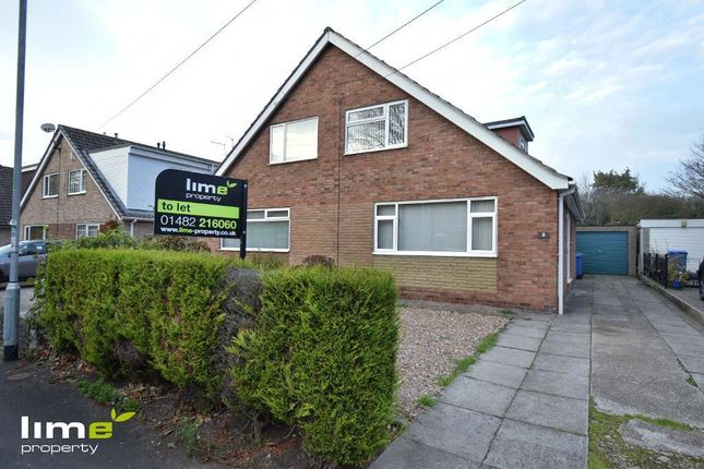 Thumbnail Semi-detached house to rent in Chestnut Avenue, Hedon
