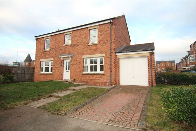 Thumbnail Detached house for sale in Herons Court, Gilesgate, Durham