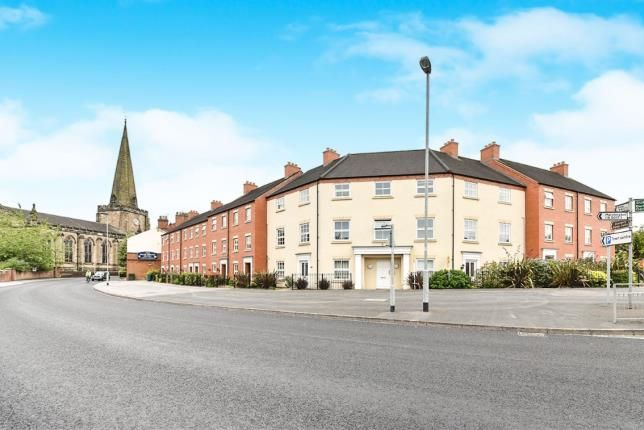 Thumbnail Flat for sale in Church Street, Uttoxeter, Staffordshire