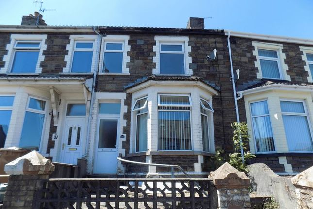 Thumbnail Terraced house to rent in Park Place, Gilfach, Bargoed