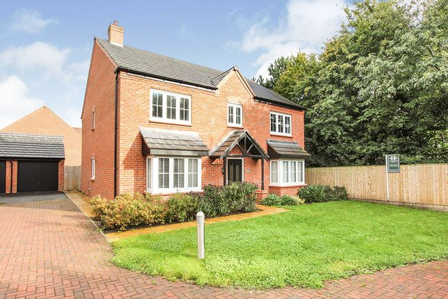 Thumbnail Detached house for sale in Poppy Close, Cuddington, Northwich, Cheshire