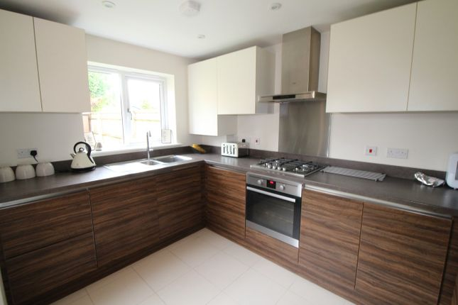 Thumbnail Semi-detached house for sale in Hazelwood Drive, Mytchett, Camberley