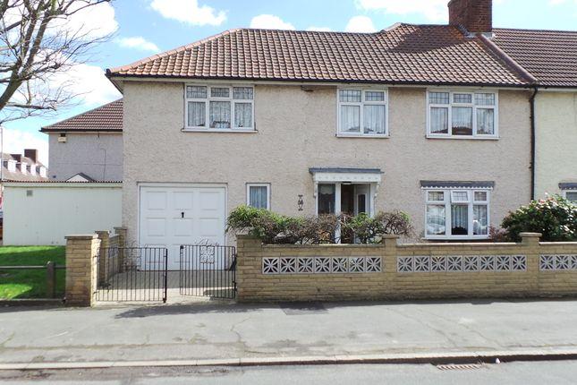 Thumbnail End terrace house for sale in Monmouth Road, Dagenham, Essex.