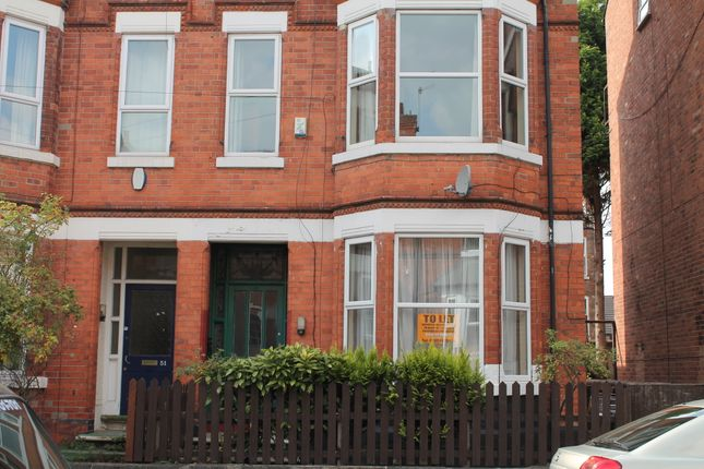 Thumbnail Semi-detached house to rent in Burford Road, Forest Fields, Nottingham