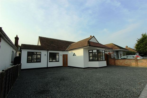 Thumbnail Detached bungalow for sale in London Road, Leigh-On-Sea, Essex