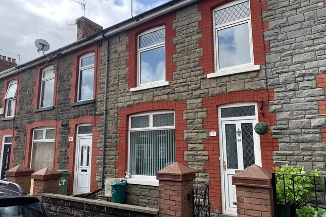 3 bed terraced house to rent in Rosser Street, Maesycoed, Pontypridd CF37