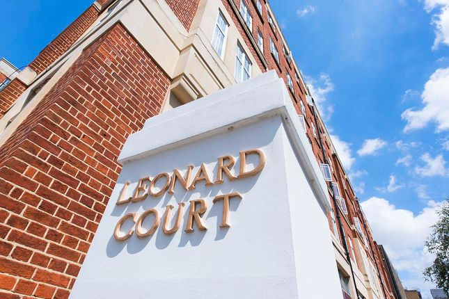 Thumbnail Flat for sale in Leonard Court, London