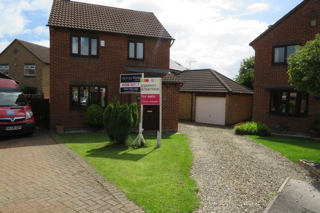 Thumbnail Detached house for sale in Sandhall Close, Billingham