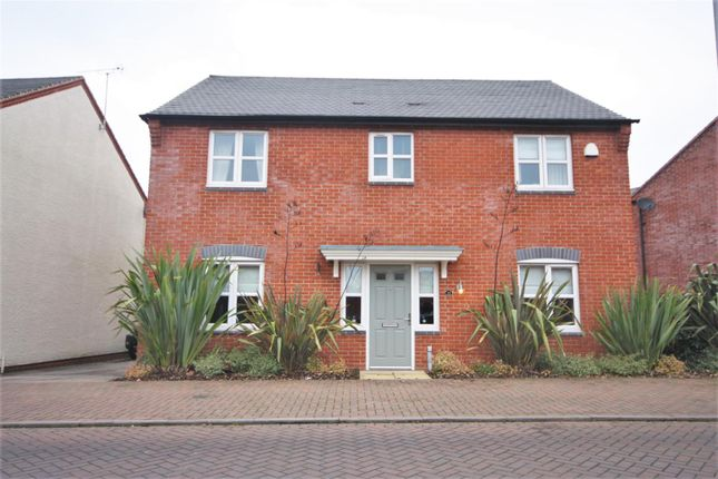 Thumbnail Detached house for sale in Usbourne Way, Ibstock