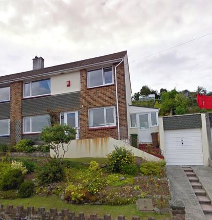 Thumbnail Semi-detached house to rent in Princess Avenue, Plymstock, Plymouth