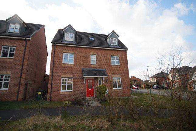 Thumbnail Detached house to rent in Burgh Wood Way, Chorley