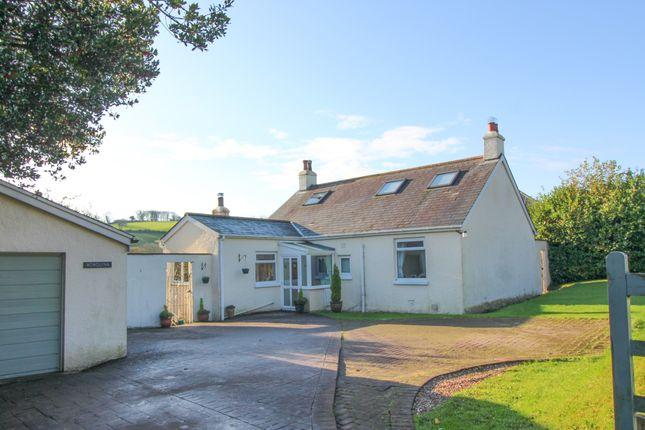 Thumbnail Detached bungalow for sale in Avonwick, Devon