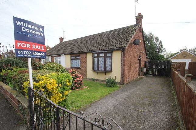 Thumbnail Semi-detached bungalow for sale in Ashcombe, Ashingdon, Rochford