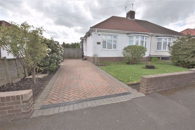 Thumbnail Semi-detached bungalow for sale in Craythorne Gardens, Newcastle Upon Tyne