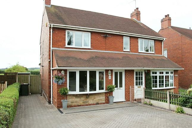 Thumbnail Semi-detached house for sale in Parkside, Madeley, Crewe