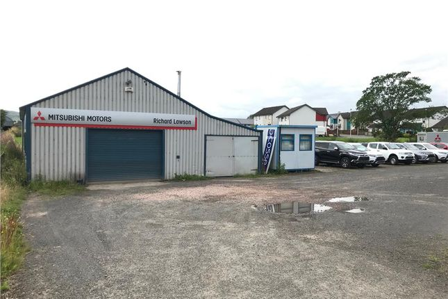 Thumbnail Industrial to let in Workshop & Forecourt, Main Road, Woodside, Burrelton, Blairgowrie