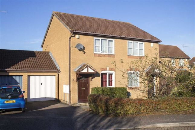 Thumbnail Semi-detached house for sale in Bantock Close, Browns Wood, Milton Keynes, Bucks