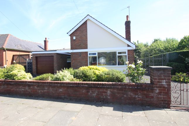 Thumbnail Detached bungalow for sale in Grange Avenue, Thornton-Cleveleys, Lancashire