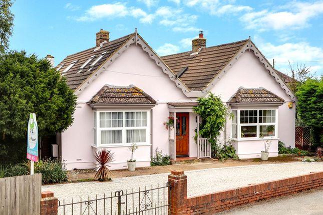 Thumbnail Detached bungalow for sale in Capel Street, Capel-Le-Ferne, Folkestone