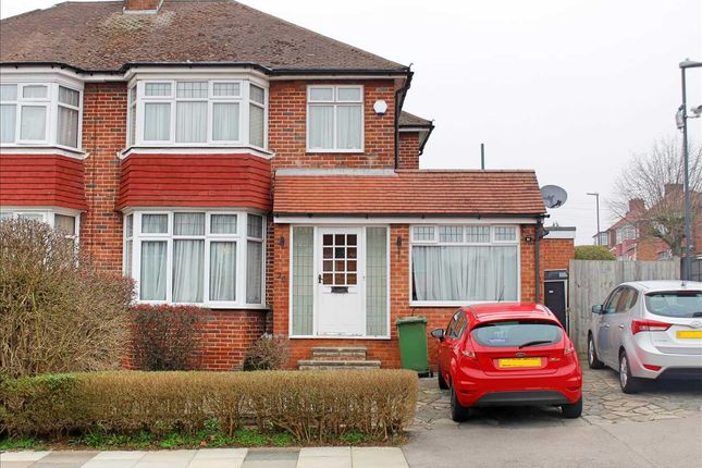 3 bed semi-detached house for sale in Crowshott Avenue, Stanmore HA7