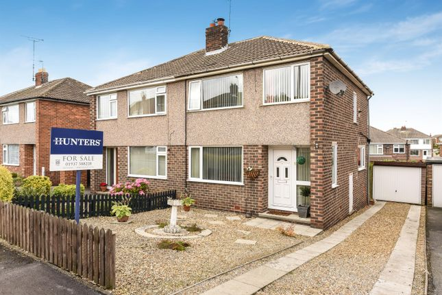 Thumbnail Semi-detached house for sale in Poplar Avenue, Wetherby