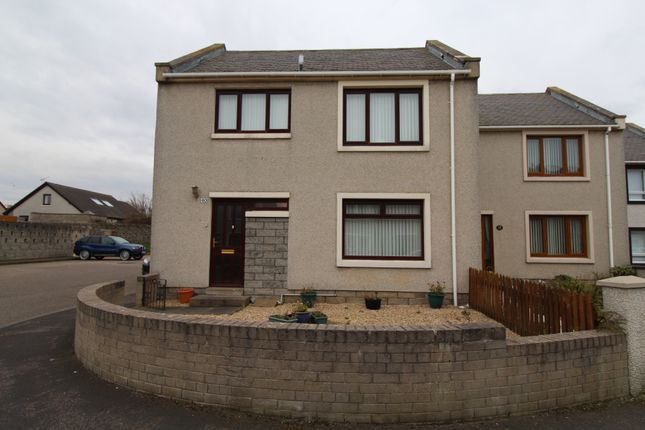 Thumbnail End terrace house for sale in New View Court, Buckie
