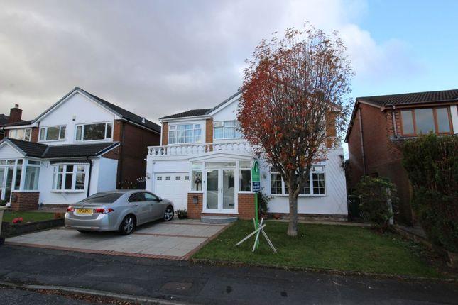 Thumbnail Detached house for sale in Glendale Drive, Ladybridge, Bolton
