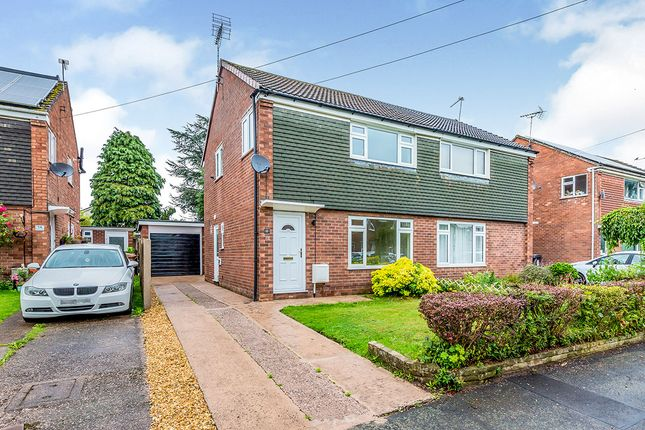Thumbnail Semi-detached house for sale in Sycamore Close, Holmes Chapel, Crewe, Cheshire