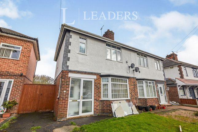 Thumbnail Semi-detached house to rent in Foremark Avenue, Normanton, Derby