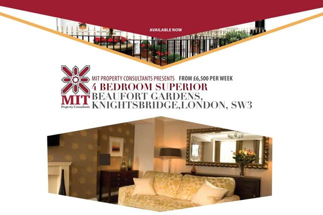 Thumbnail Flat to rent in Beaufort Gardens, London