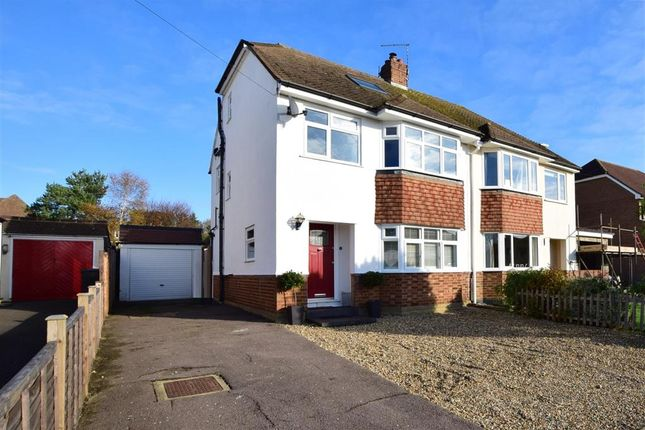 4 bed semi-detached house for sale in Copsewood Way, Bearsted, Maidstone, Kent ME15