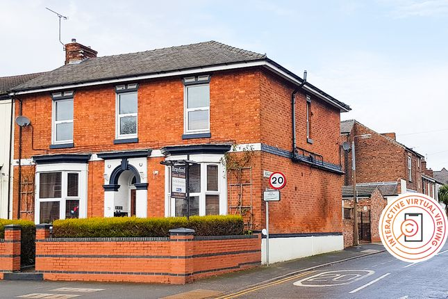 Thumbnail End terrace house for sale in Newsums Villas, Carholme Road, Lincoln