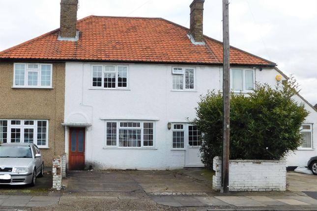 Thumbnail Semi-detached house to rent in Dawley Avenue, Hillingdon
