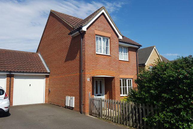 Thumbnail Detached house to rent in Guernsey Way, Kennington, Ashford