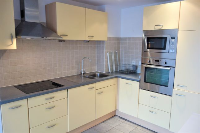 Thumbnail 1 bed flat to rent in Lady Isle House, Ferry Court, Cardiff