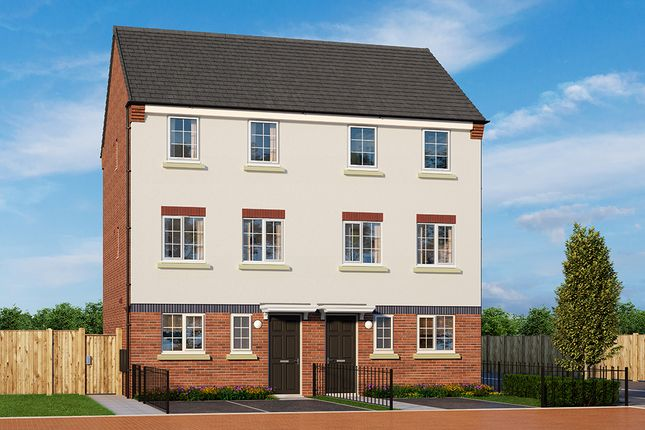"Thumbnail Property for sale in ""The Oban"" at Wellington Road, Northwood, Stoke-On-Trent"