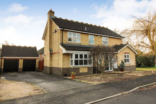 Thumbnail Detached house for sale in Upperway Furlong, Didcot