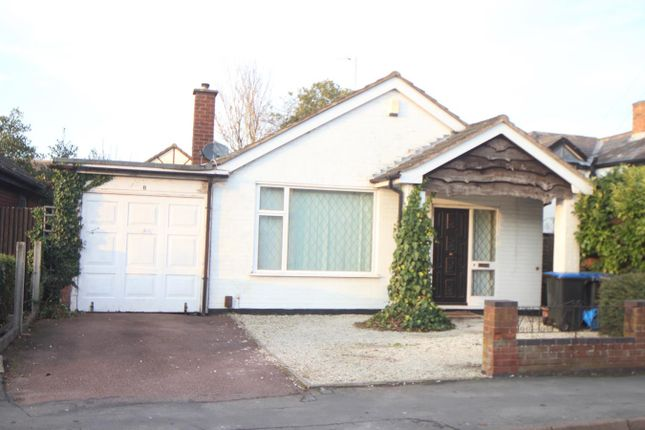 Thumbnail Detached bungalow for sale in Grove Road, Burbage, Hinckley
