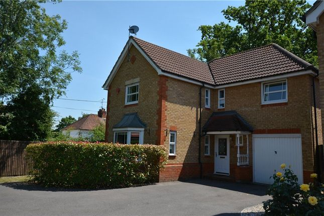 Thumbnail Detached house for sale in Milam Close, Arborfield, Reading